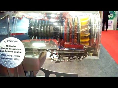Gas Turbine Motoru
