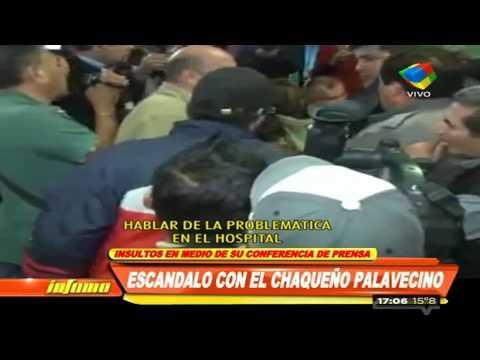Conferencia del Chaqueño Palavecino termina en escándalo