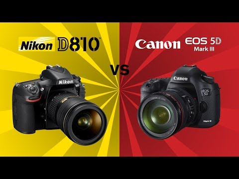 Nikon D810 vs Canon 5D MIII