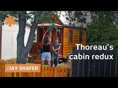 Thoreau's cabin redux: tiny homes and happiness