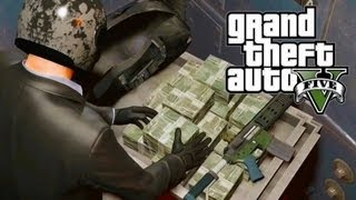 GTA 5 Secrets: $2 Billion Dollars in 2 Minutes, Max Ammo, Max Stats (Easy Money Xbox 360 Only)