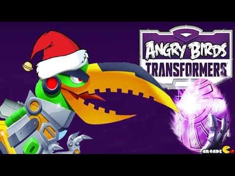 Angry Birds Transformers: Spotted Golden EggBots The EggSpark New Update Part 69