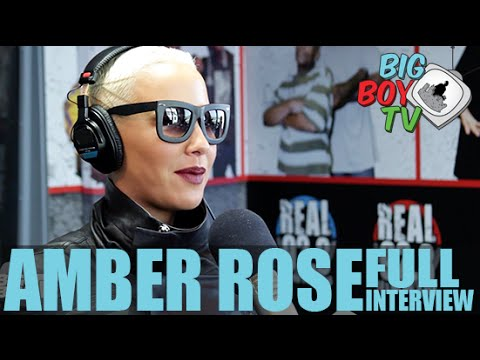 Amber Rose FULL INTERVIEW | BigBoyTV