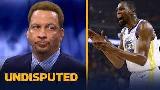 Chris Broussard responds to KD after latest chapter in Twitter beef | NBA | UNDISPUTED