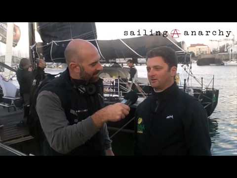 Arnaud Boissieres Talks to Sailing Anarchy's Alan Block Before the Vendee Globe start.