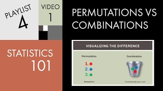 Download Statistics 101: Permutations vs. Combinations 3Gp Mp4