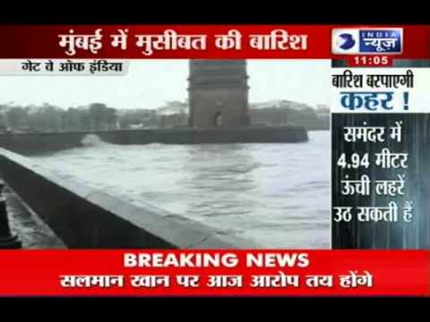 India News: Heavy rains disrupt life in Mumbai
