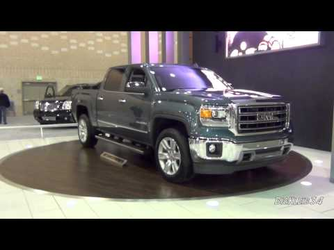 2014 GMC Sierra SLT Walk Around