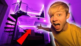 This Is My New LED Apartment... (Tour)
