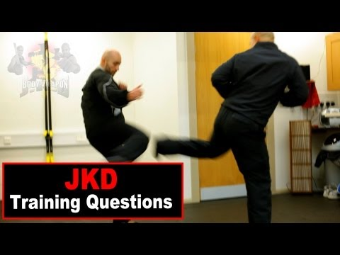 jkd techniques - attack low kick Q4 Image 1