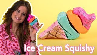 Ice Cream Squishy Maken - DIY | Jill