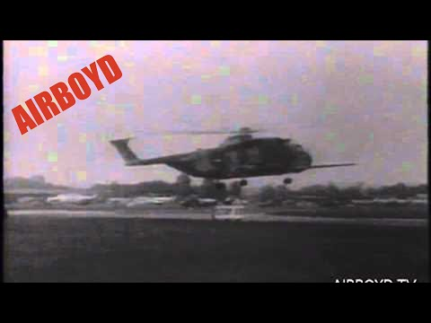 First Non-Stop Transatlantic Helicopter Flight (1967)