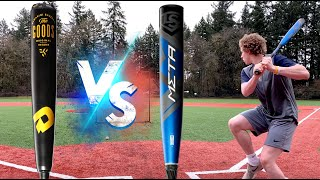 META PWR vs THE GOODS - HOME RUN DERBY - The Ultimate BBCOR Showdown - BBCOR Baseball Bat Reviews