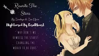 Rewrite The Stars ~ Nightcore
