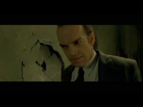 matrix neo vs. agent smith