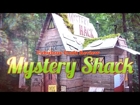Fabulous Craft Review: Gravity Falls Mystery shack Dollhouse