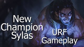 SYLAS URF! - New LoL Champion gameplay in best gamemode that was ever created