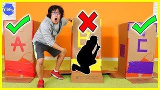 Don't Choose the Wrong Mystery Box Challenge!!!!