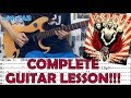 Wish You Were Here - Incubus(Complete Guitar Lesson/Cover)with Chords and Tab