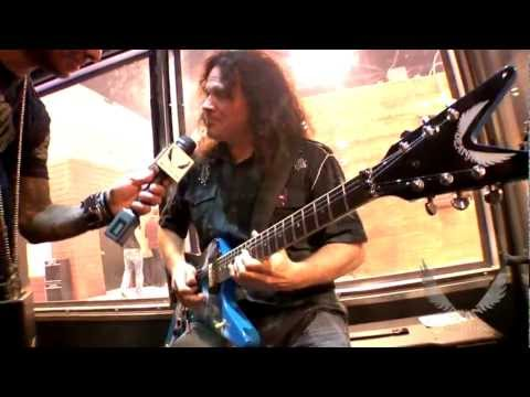 DEAN GUITARS NAMM 2012 VINNIE MOORE JAMS AT THE DEAN GUITARS BOOTH