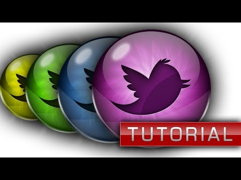 Glossy Social Media Icons Tutorial - Photoshop CS6 - ChromeDesignsHD