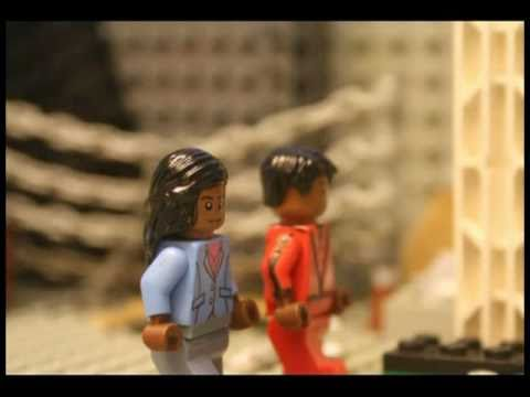 Michael Jacksons Thriller Tribute in LEGO