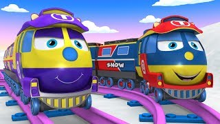 Cartoons for Kids - Cho Cho Train - Tomas The Train - Chu Chu Train for Kids -  Kids Train Videos