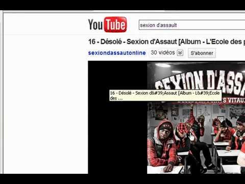 comment trouver url youtube