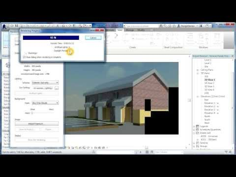 Revit Tutorials | Terraced Houses Design 8 | Revit Architecture 2014