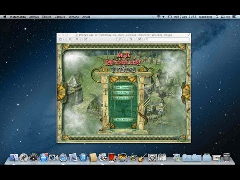 Descargar, Instalar y Actualizar Age Of Mythology + expansión  Mac Os X Mavericks, Mount... (Part 1)