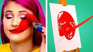 Art is Fun! 9 Painting Hacks and DIY Drawing Tricks