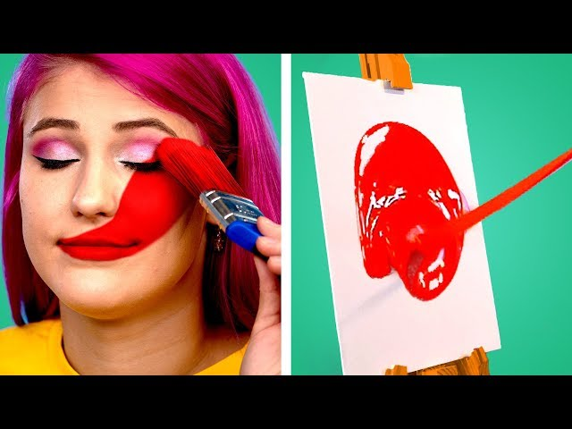 Art is Fun! 9 Painting Hacks and DIY Drawing Tricks