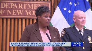 NYPD shake-up: Head of department reassigned after scathing report