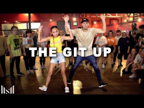 Download THE GIT UP  Blanco Brown Dance  Matt Steffanina ft Nicole Laeno