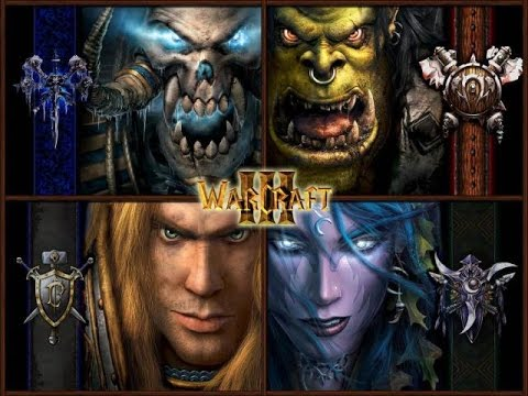 Warcraft 3 Reign of Chaos & Frozen Throne Cinematicas HD