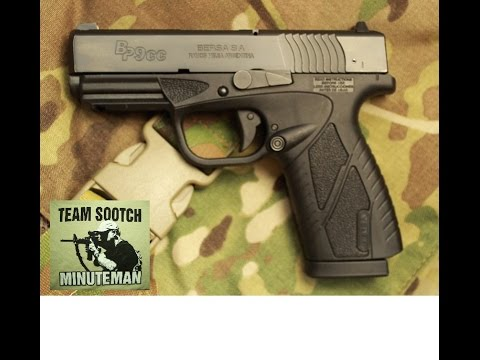 Bersa BP9cc Pistol Review