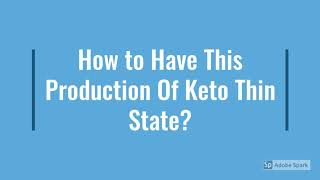 """Keto Thin State Pills : """"Cost to-Buy"""" Side-Effects? '(Upadate 2020) 'Does It Realiy Work, ?"""