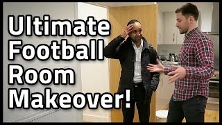 FOOTBALL MAKEOVER SURPRISE FOR MY MATE!