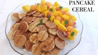 Pancake Cereals // Eggless mini pancake // Trending pancakes recipe~ Resham Bakes and Catering