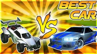 NEW BEST CAR!? OCTANE VS GTR SKYLINE ON ROCKET LEAGUE!! MUST WATCH! (FUNNY MOMENTS)