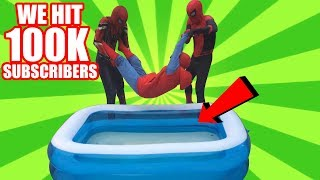 WE HIT 100K SUBSCRIBERS!! SPIDERMAN BROS SPECIAL VIDEO!