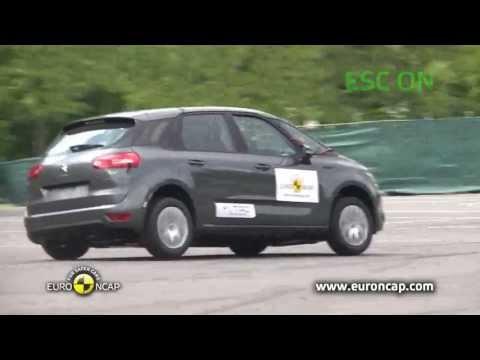 Euro NCAP | Citroen C4 Picasso | 2013 | ESC Краш-тест