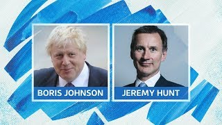 Live: Tory leadership race: Hunt and Johnson take questions at first hustings event | ITV News