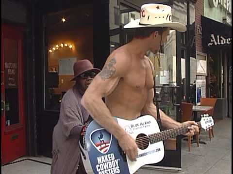 "NAKED COWBOY REALITY SHOW # 31 ""OYSTERS IN PHILLY"""
