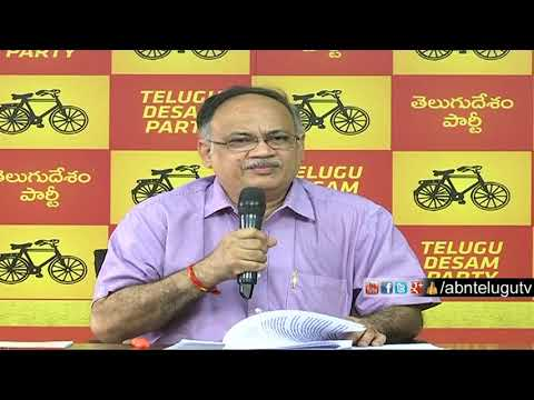 AP Planning Commission deputy Chairman Kutumba Rao Press Meet over Modi Govt Irregularities | Part 1