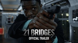 21 Bridges | Official Trailer | Now In Theaters