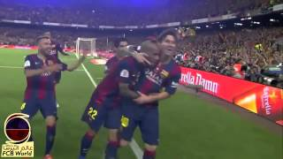 Lionel Messi Goal vs Athletic Bilbao | 16 Worldwide Commentaries | Copa del Rey 2015 [HD]