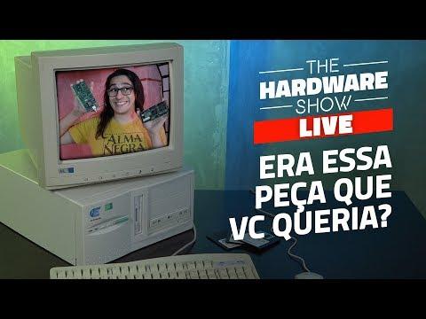 Só nos computer véio com Pentium 100 - The Hardware Show LIVE!