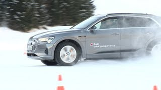 Audi driving experience in St.Jakob am Arlberg