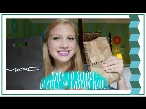 Back to School: Beauty and Fashion Haul! (Free People, Earthbound, Sephora, ect.)